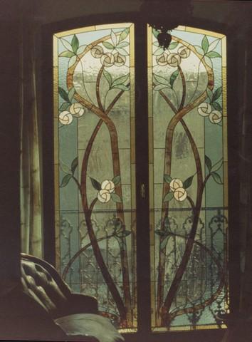 Realizzazione vetrate e vetri artistici decorati per - Vetri colorati per finestre ...