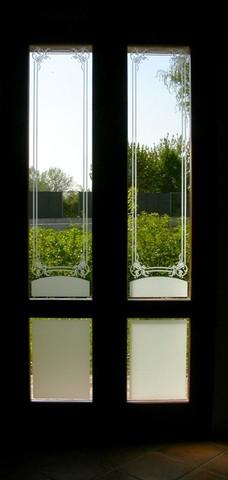 realizzazione vetrate e vetri artistici decorati per