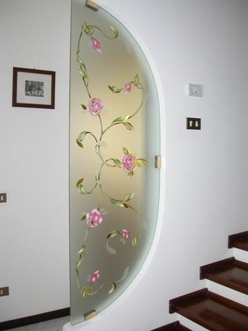 Realizzazione vetri decorati per arredamento: Divisorie e ...