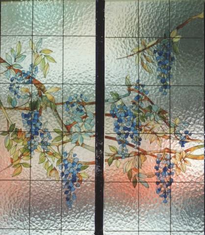 Laboratorio artigiano di pittura vetri decorazione vetrate - Pittura idrorepellente per esterni trasparente ...