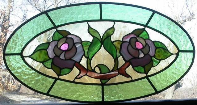 Laboratorio Realizzazione vetrate rilegate Tiffany Vetri artistici ...
