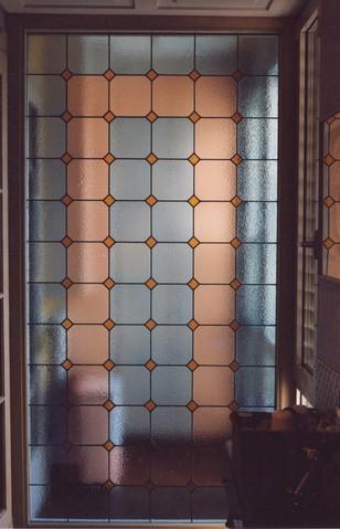 Realizzazione vetri decorati per arredamento divisorie e - Parete divisoria in vetro ...