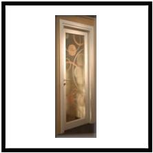 produzione vetri decorati per porte moderne anche contoterzi ... - Vetri Decorati Per Porte Interne Moderne